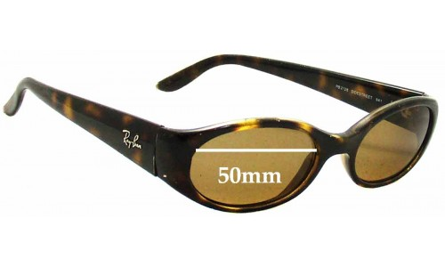 Sunglass Fix Sunglass Replacement Lenses for Ray Ban Sidestreet RB2128 - 50mm wide