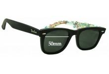 Sunglass Fix Sunglass Replacement Lenses for Ray Ban Wayfarer RB2140 Special Series 2 - 50mm Wide