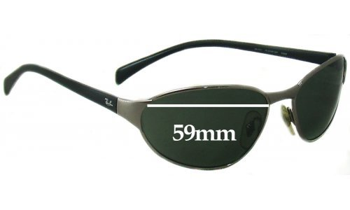 Sunglass Fix Sunglass Replacement Lenses for Ray Ban RB3101 - 59mm wide