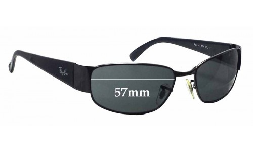 Sunglass Fix Sunglass Replacement Lenses for Ray Ban RB3141 - 57mm wide
