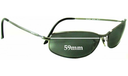Sunglass Fix Sunglass Replacement Lenses for Ray Ban RB3216 -59 mm Wide