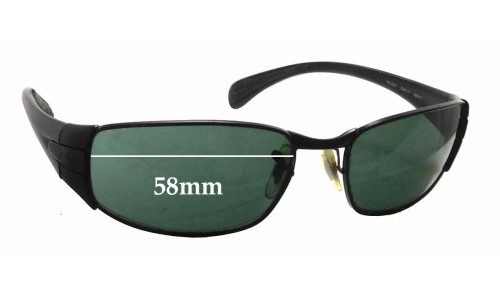 Sunglass Fix Sunglass Replacement Lenses for Ray Ban RB3261 - 58mm Wide