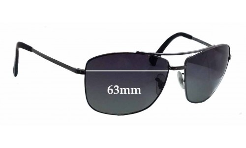 Sunglass Fix Sunglass Replacement Lenses for Ray Ban RB3476 - 63mm wide