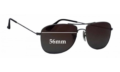 Sunglass Fix Sunglass Replacement Lenses for Ray Ban RB3477 - 56mm wide