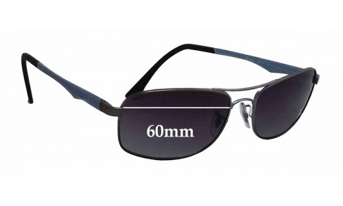 Sunglass Fix Sunglass Replacement Lenses for Ray Ban RB3484 - 60mm wide
