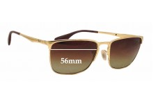 Sunglass Fix Sunglass Replacement Lenses for Ray Ban RB3508 - 56mm Wide