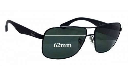 Sunglass Fix Sunglass Replacement Lenses for Ray Ban RB3516 - 62mm Wide