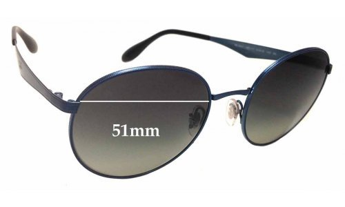 Sunglass Fix Sunglass Replacement Lenses for Ray Ban RB3537 - 51mm wide