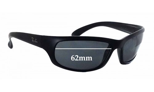 Sunglass Fix Sunglass Replacement Lenses for Ray Ban RB4037 - 62mm Wide