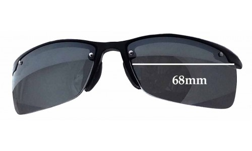 Sunglass Fix Sunglass Replacement Lenses for Ray Ban RB4056 - 68mm Wide