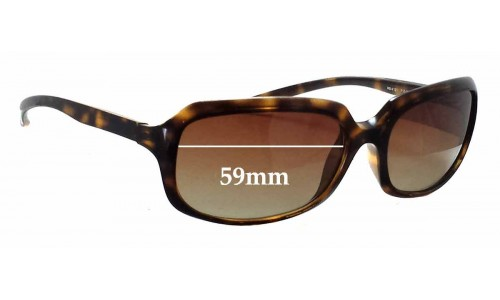 Sunglass Fix Sunglass Replacement Lenses for Ray Ban RB4131 - 59mm wide