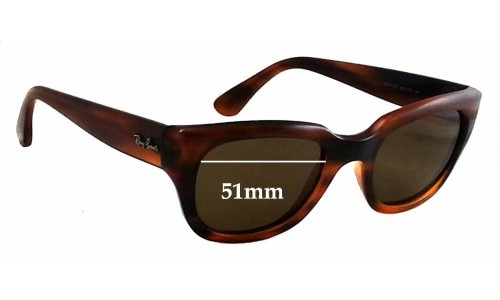 Sunglass Fix Sunglass Replacement Lenses for Ray Ban RB4178 - 51mm wide