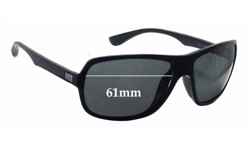Sunglass Fix Sunglass Replacement Lenses for Ray Ban RB4192 - 61mm wide