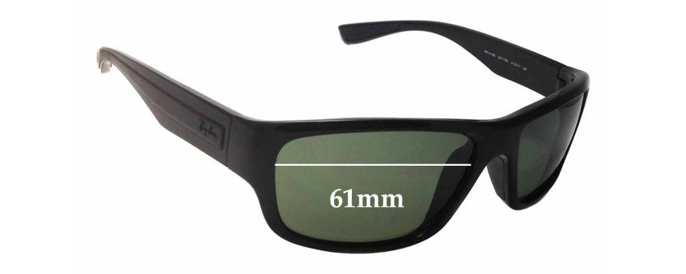 0901d5d1a8 Sunglass Fix Sunglass Replacement Lenses for Ray Ban RB4196 - 61mm Wide