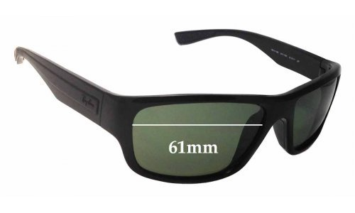 Sunglass Fix Sunglass Replacement Lenses for Ray Ban RB4196 - 61mm Wide