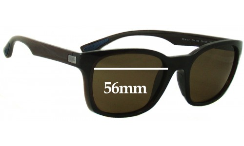 Sunglass Fix Sunglass Replacement Lenses for Ray Ban RB4197 - 56mm wide