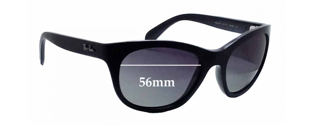 Sunglass Fix Sunglass Replacement Lenses for Ray Ban RB4216 - 56mm Wide