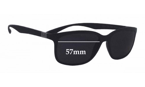 Sunglass Fix Sunglass Replacement Lenses for Ray Ban RB4215 Liteforce - 57mm wide
