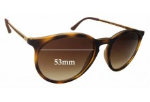 Sunglass Fix Sunglass Replacement Lenses for Ray Ban RB4274 - 53mm Wide