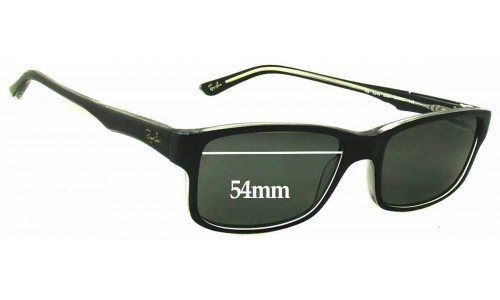 Sunglass Fix Sunglass Replacement Lenses for Ray Ban RB5245 - 54mm Wide