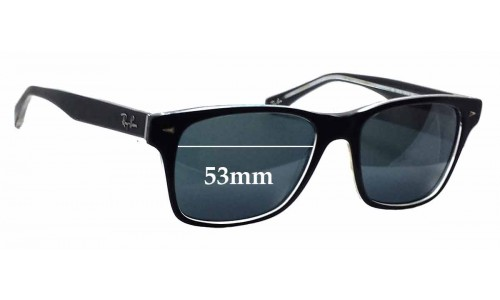Sunglass Fix Sunglass Replacement Lenses for Ray Ban RB5308 - 53mm wide
