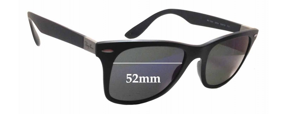 Sunglass Fix Sunglass Replacement Lenses for Ray Ban RB7034 - 52mm Wide