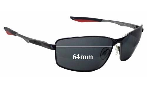 Sunglass Fix Sunglass Replacement Lenses for Reebok RBS 5 - 64mm Wide