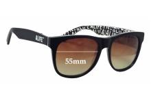 Sunglass Fix Sunglass Replacement Lenses for Retro Super Future Alife - 55mm Wide