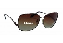Sunglass Fix Sunglass Replacement Lenses for Roberto Cavalli Menta 660S - 61mm Wide