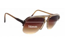 Sunglass Fix Sunglass Replacement Lenses for Ropco King Rim - 54mm Wide x 50mm Tall