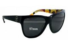Sunglass Fix Sunglass Replacement Lenses for Roxy Gossip - 57mm Wide