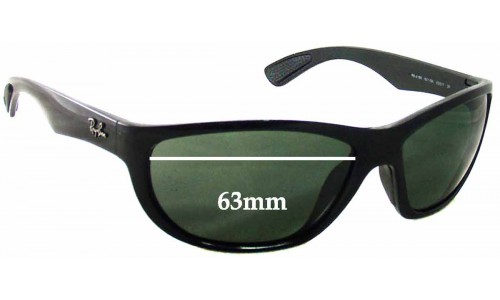 Sunglass Fix Sunglass Replacement Lenses for Ray Ban RB4188 - 63mm Wide