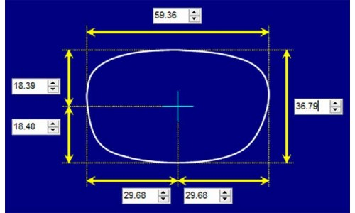 Sunglass Fix Sunglass Replacement Lenses for Ray Ban B&L Predator - 59mm Wide