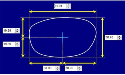 Sunglass Fix Sunglass Replacement Lenses for Ray Ban RB4003 -  61mm Sunglass Replacement Lenses