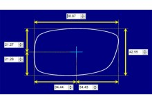 Sunglass Fix Sunglass Replacement Lenses for Roc Focus - 69mm Wide