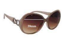Sunglass Fix Sunglass Replacement Lenses for Salvatore Ferragamo SF602S - 59mm Wide