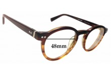 Sunglass Fix Sunglass Replacement Lenses for Seraphin Quincy 8668 - 48mm Wide