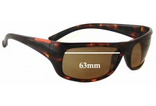 Sunglass Fix Sunglass Replacement Lenses for Serengeti Cetera - 63mm Wide