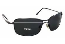 Sunglass Fix Sunglass Replacement Lenses for Serengeti Firenze - 63mm Wide