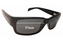 Sunglass Fix Sunglass Replacement Lenses for Serengeti Merano - 57mm Wide