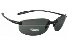 Sunglass Fix Sunglass Replacement Lenses for Serengeti Nuvino - 65mm Wide
