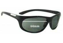 Sunglass Fix Sunglass Replacement Lenses for Serengeti Presa - 64mm Wide