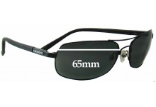 Sunglass Fix Sunglass Replacement Lenses for Serengeti Rimini - 65mm Wide