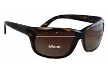 Sunglass Fix Sunglass Replacement Lenses for Serengeti Vetera - 63mm Wide