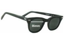 Sunglass Fix Sunglass Replacement Lenses for Shuron Freeway - 46mm Wide