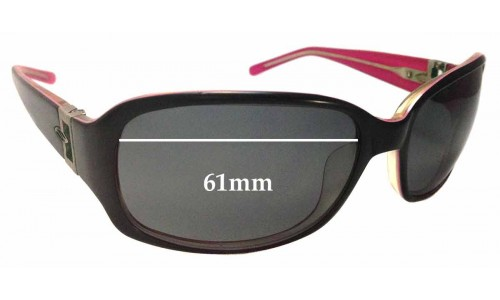 Sunglass Fix Sunglass Replacement Lenses for Smith Audrey - 61mm Wide