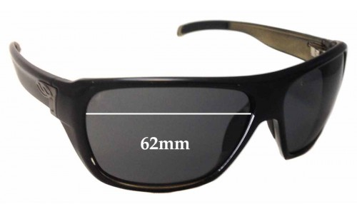 Sunglass Fix Sunglass Replacement Lenses for Smith Chief - 62mm Wide