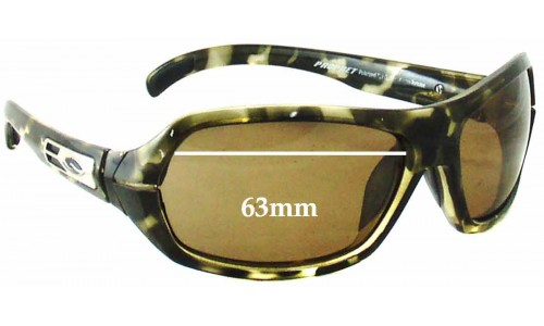 Sunglass Fix Sunglass Replacement Lenses for Smith Prophet - 63mm Wide