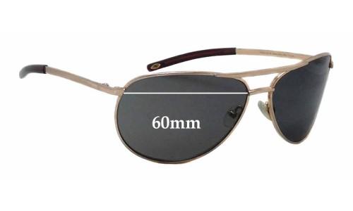 Sunglass Fix Sunglass Replacement Lenses for Smith Serpico SLIM - 60mm Wide