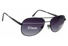 Sunglass Fix Sunglass Replacement Lenses for Soltec Aviator - 57mm Wide